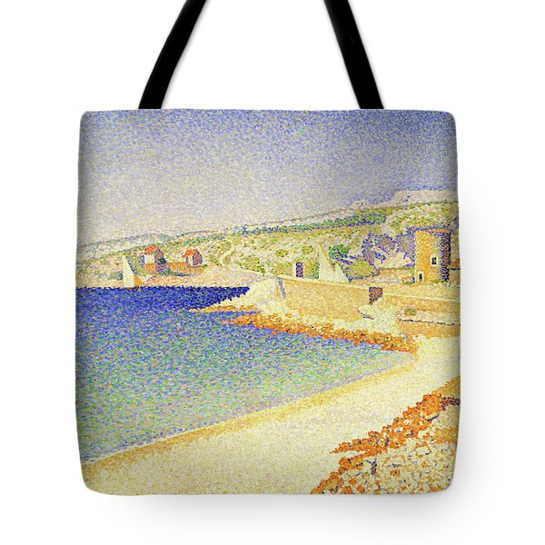 The Jetty At Cassis - Digital Remastered Edition Tote Bag