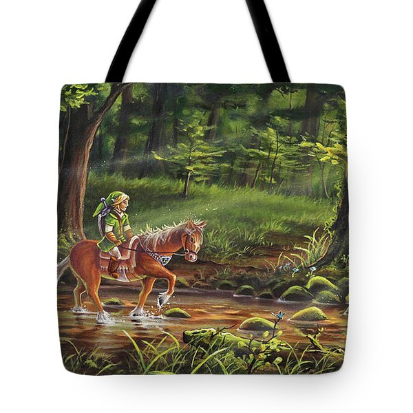 The Journey Begins Tote Bag