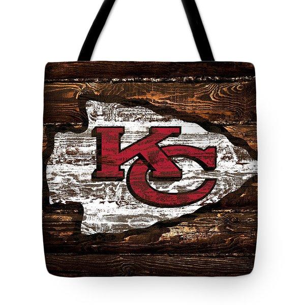 The Kansas City Chiefs 4w Tote Bag