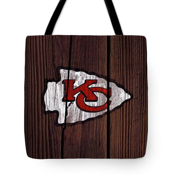 The Kansas City Chiefs 7w Tote Bag