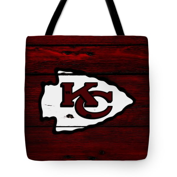 The Kansas City Chiefs 8c Tote Bag