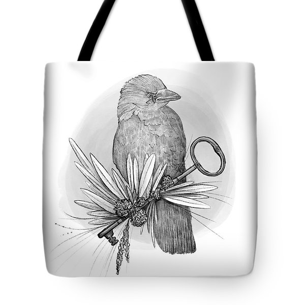 The Keeper Of The Key Tote Bag