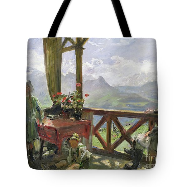 The Klobenstein, 1910  Tote Bag