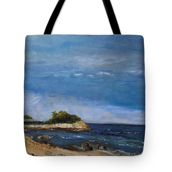 The Knob, Falmouth Tote Bag