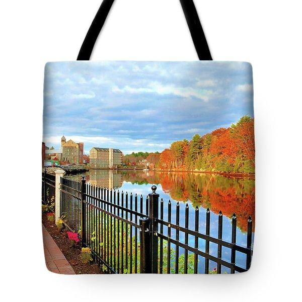 The Lamprey River Tote Bag