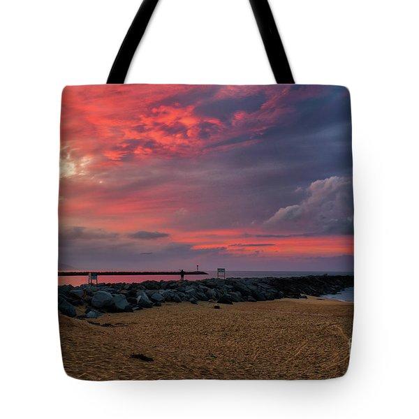The Last Sunrise Of 2018 Tote Bag