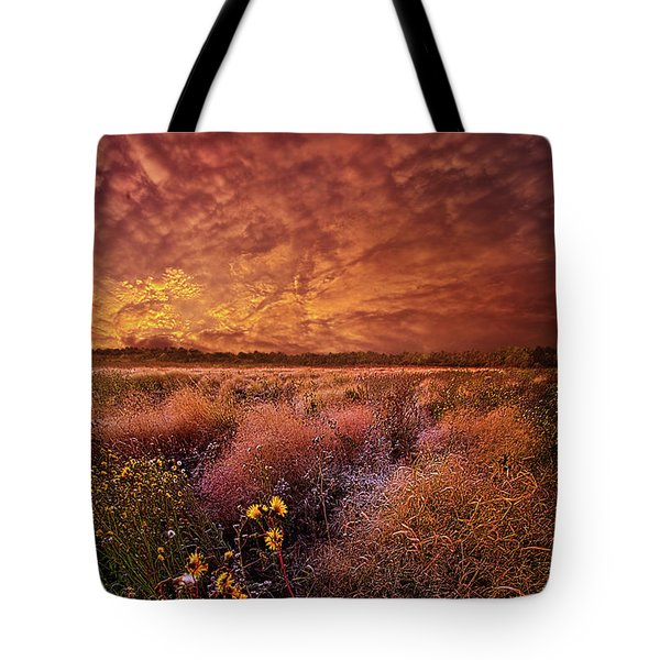Tote Bag featuring the photograph The Light So Softly Spoken by Phil Koch