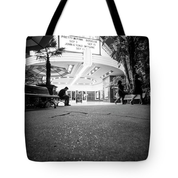 Tote Bag featuring the photograph The Loner- by JD Mims