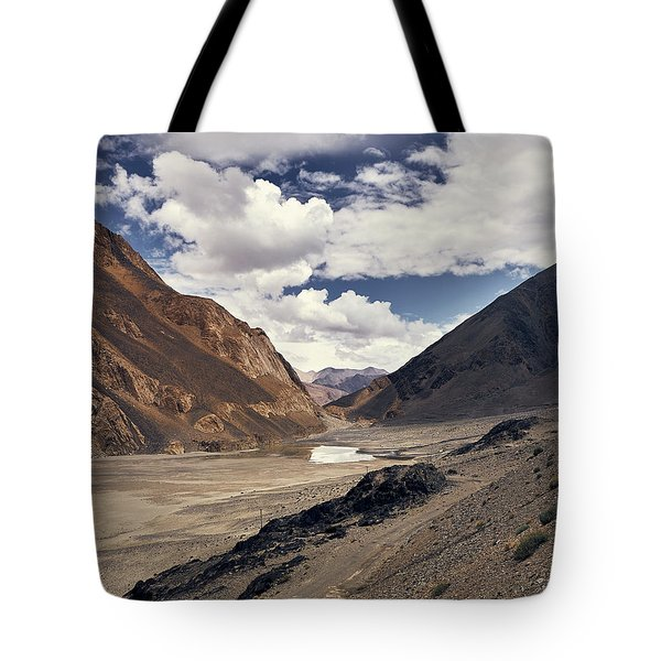 Tote Bag featuring the photograph The Long Journey by Whitney Goodey