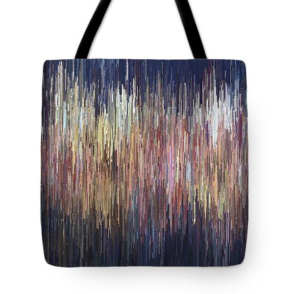 Tote Bag featuring the digital art The Look Of Sound by David Manlove