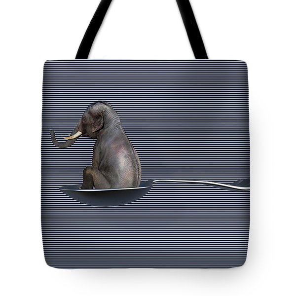 The Looming Addict  Tote Bag