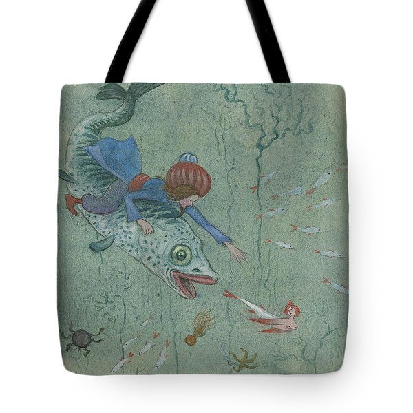 Tote Bag featuring the photograph The Lord Of The Wonderful Bird by Ivar Arosenius