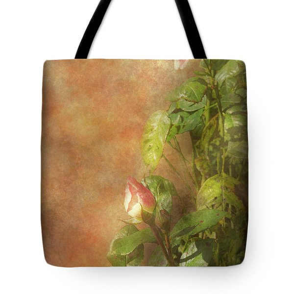 Tote Bag featuring the photograph The Lovely Rose by Mike Savad - Abbie Shores