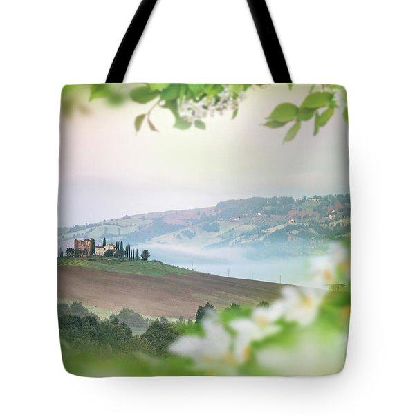 The Magic Of Spring Tote Bag