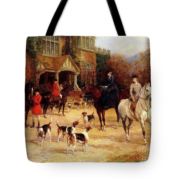 The Meet By Heywood Hardy Tote Bag