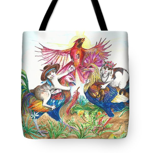 The Merry Murderesses Tote Bag