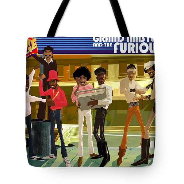 Tote Bag featuring the digital art The Message by Nelson  Dedos Garcia