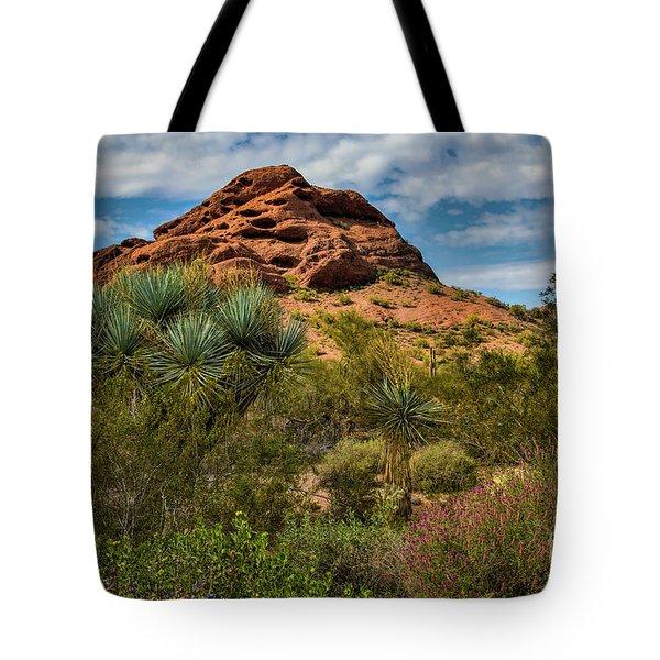The Mighty Papago Tote Bag