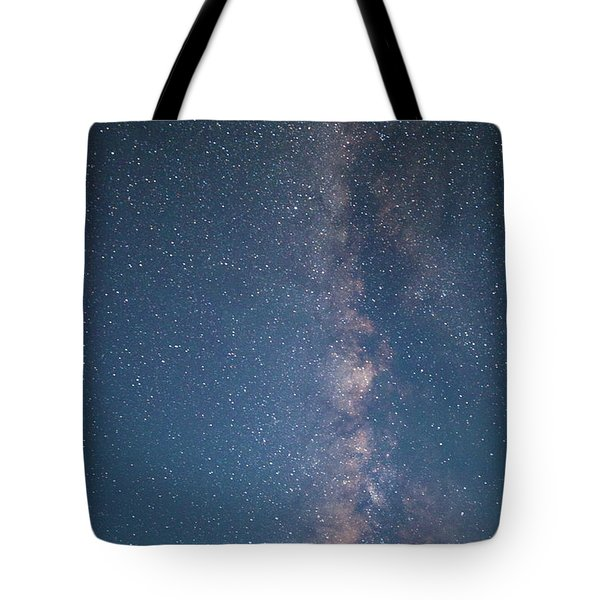 The Milky Way In Arizona Tote Bag