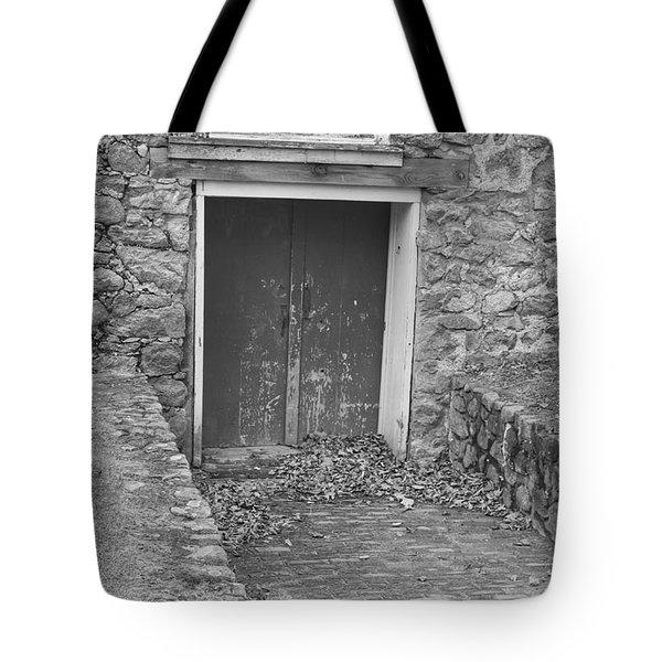 The Mill Door - Waterloo Village Tote Bag