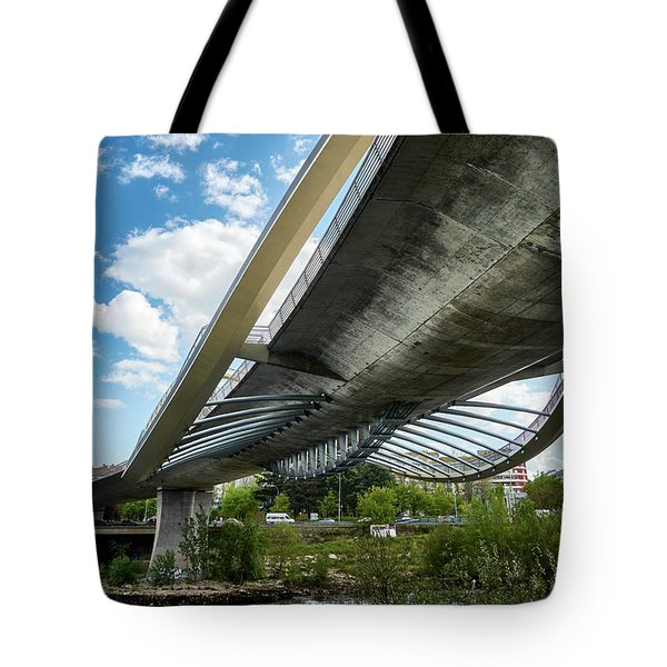 The Millennium Bridge From Below Tote Bag