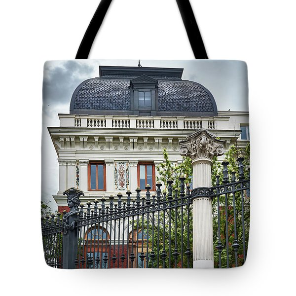 The Ministry Of Agriculture, Fisheries, Food And Environment In Madrid Tote Bag