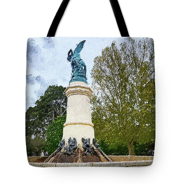 The Misery Of The Fallen Angel Tote Bag