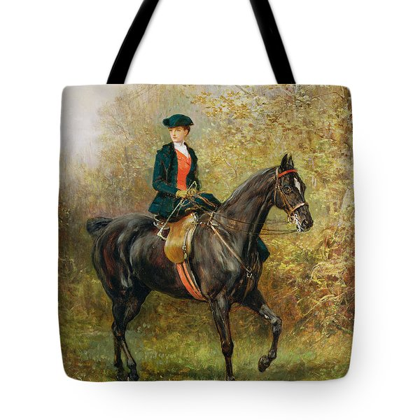 The Morning Ride, 1891 Tote Bag