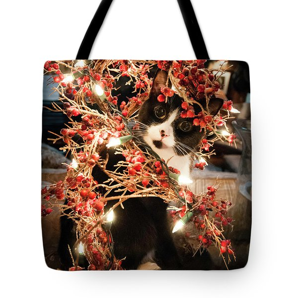 The Munch Christmas Tote Bag