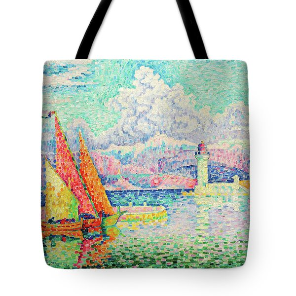 The Musior, Port Of Antibes - Digital Remastered Edition Tote Bag