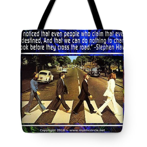The Mystic Circle Inspirational Series One One Tote Bag