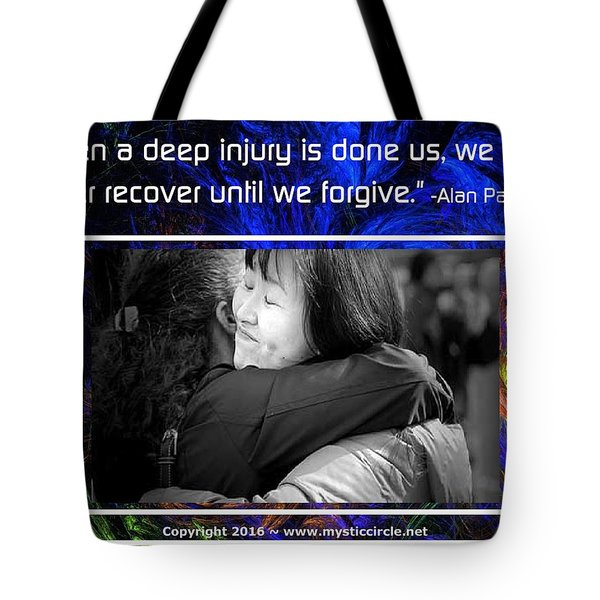 The Mystic Circle Inspirational Series One Four Tote Bag