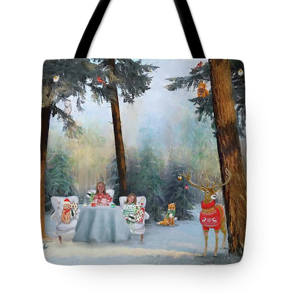 The Mystical Magical Wonders Of The Forest Tote Bag