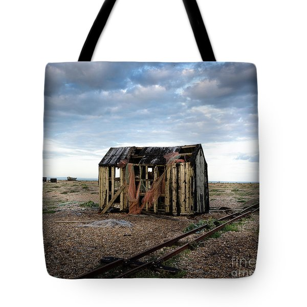 The Net Shack, Dungeness Beach Tote Bag
