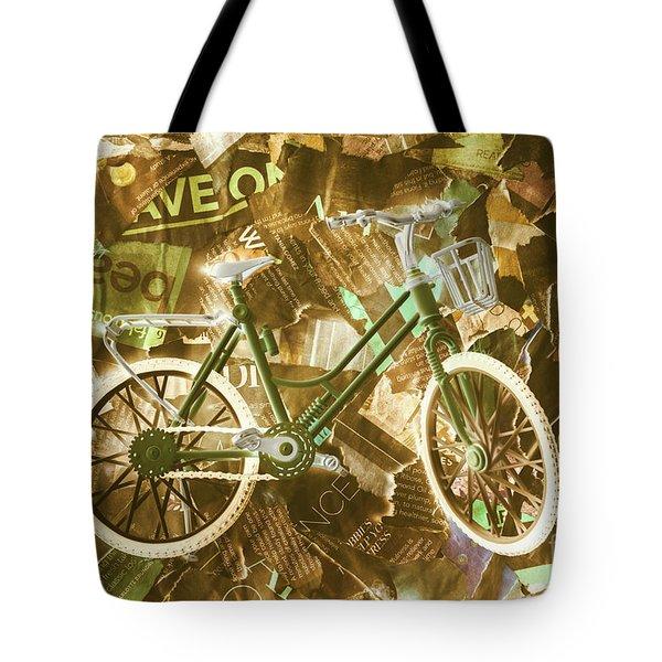 The News Cycle Tote Bag
