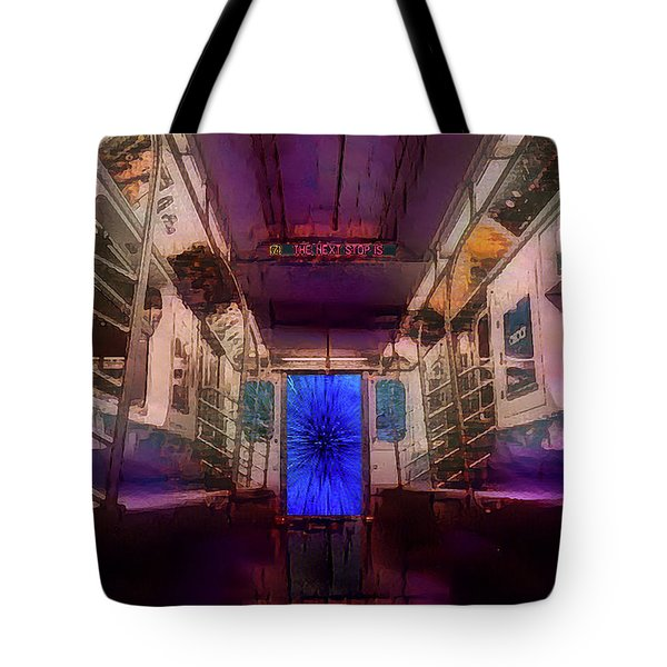 The Next Stop Is... Tote Bag