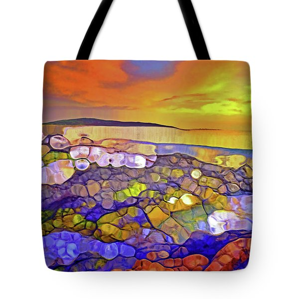 The Ocean Moves Inside Of Us Tote Bag