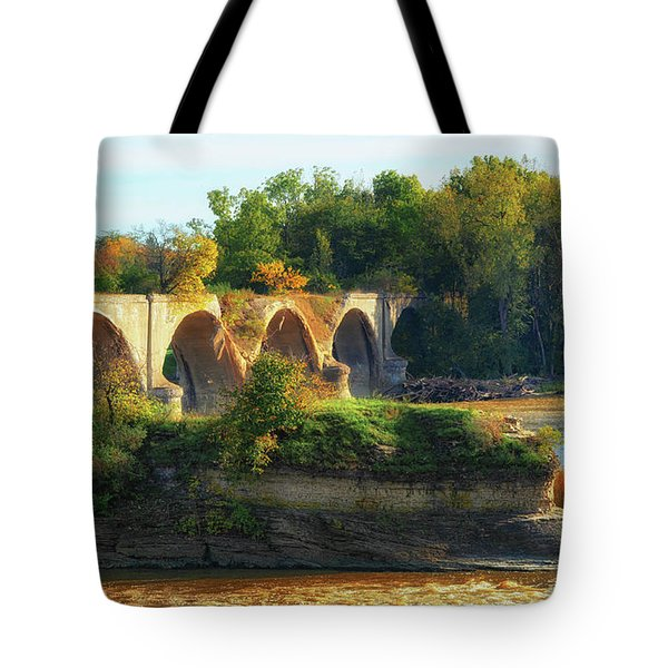 The Old Bridge  Tote Bag