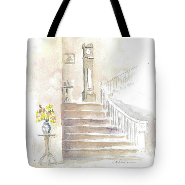 The Old Clock Tote Bag