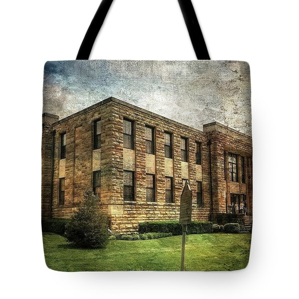 The Old County Courthouse Tote Bag