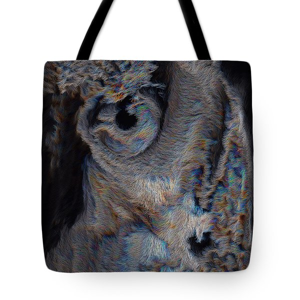 The Old Owl That Watches Tote Bag