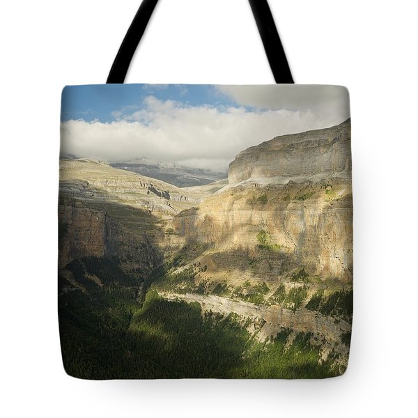 The Ordesa Valley Tote Bag