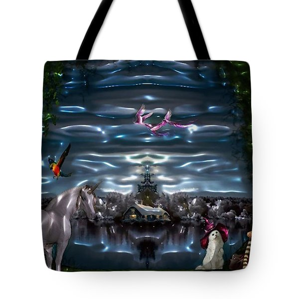 The Other Side Tote Bag