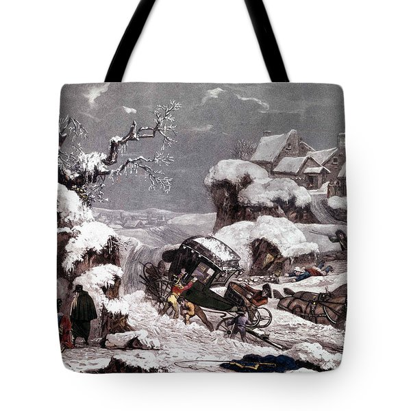 The Overturned Carriage Tote Bag