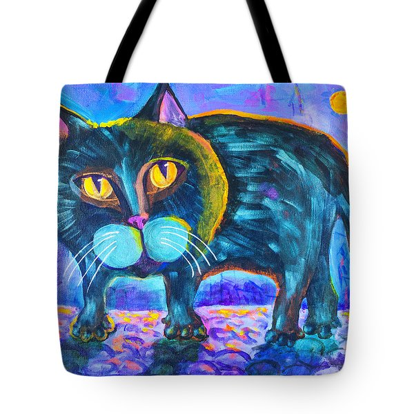 The Owner Of The Night 11x14 Tote Bag