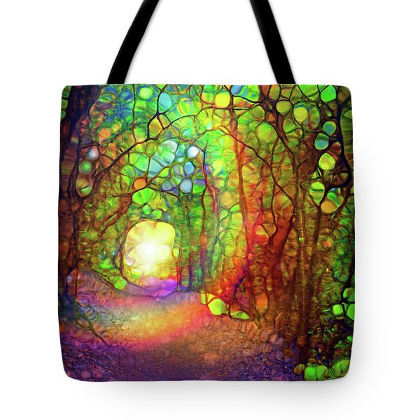 The Path At The End Of The Forest That Brings Us Home Tote Bag