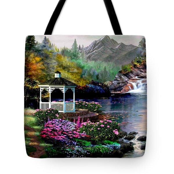 The Path Least Followed Tote Bag