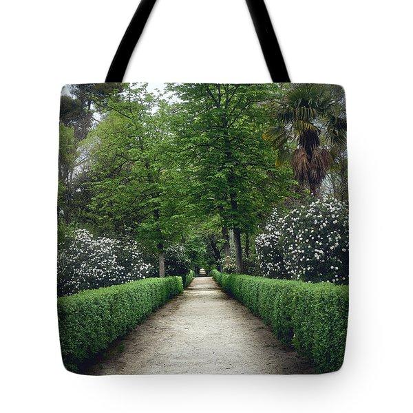 The Paths Of The Retiro Park Tote Bag