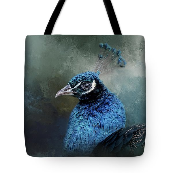The Peacock's Crown Tote Bag