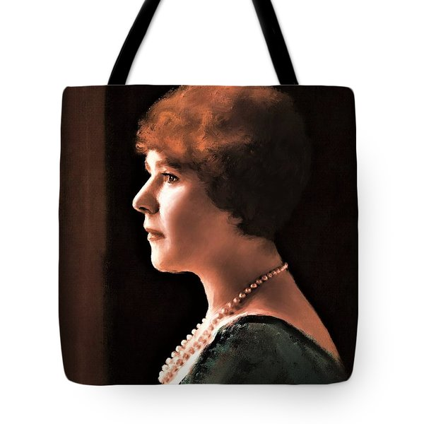The Pearl Necklace Tote Bag